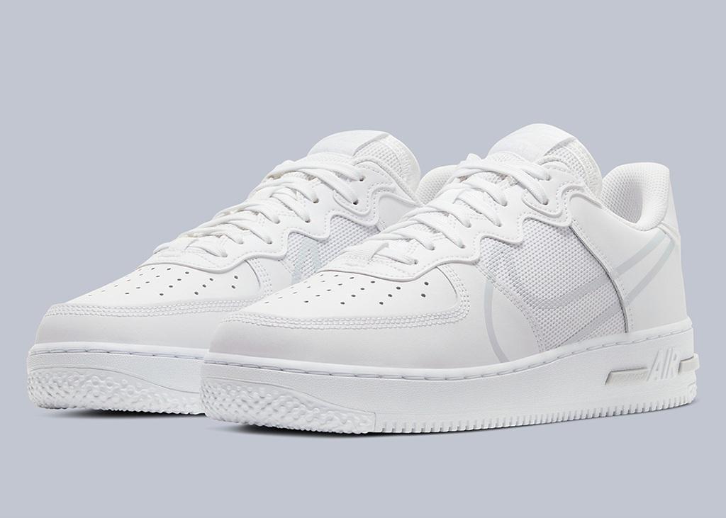 Hoe te reageren op de nieuwe Nike Air Force 1 React?