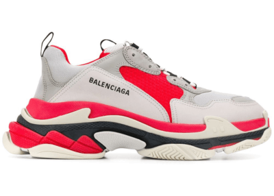 Balenciaga Triple S Red Grey White 536737 W09OH 6495