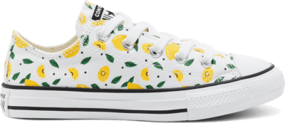 Converse Summer Fruits Chuck Taylor All Star Low Top voor kids White/Yellow/Green 668292C