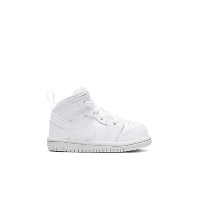 "Air Jordan 1 MID (TD) ""WHITE"" 640735-130"