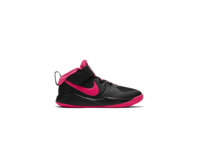 Nike Team Hustle D 9 Black Racer Pink (PS) AQ4225-002