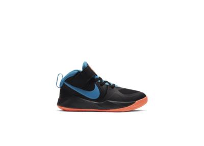 Nike Team Hustle D 9 Black Laser Blue (PS) AQ4225-006