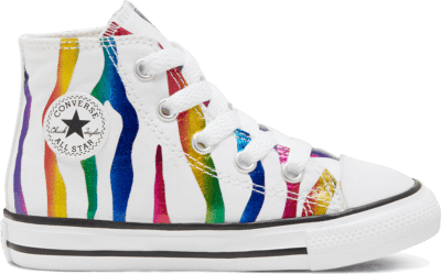 Converse Archive Zebra Chuck Taylor All Star High Top voor peuters White/ Black 767603C