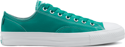 Converse Unisex Suede Ollie Patch CTAS Pro Low Top Malachite/White/White 167608C