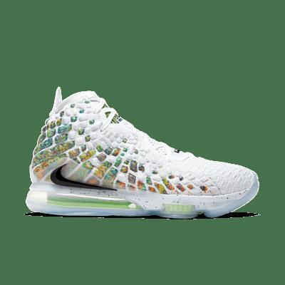 Nike LeBron 17 White BQ3177-100