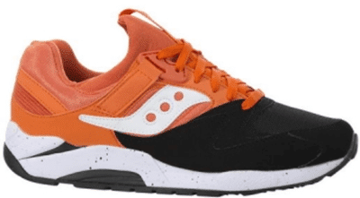 Saucony Grid 9000 Black Orange S70077-36