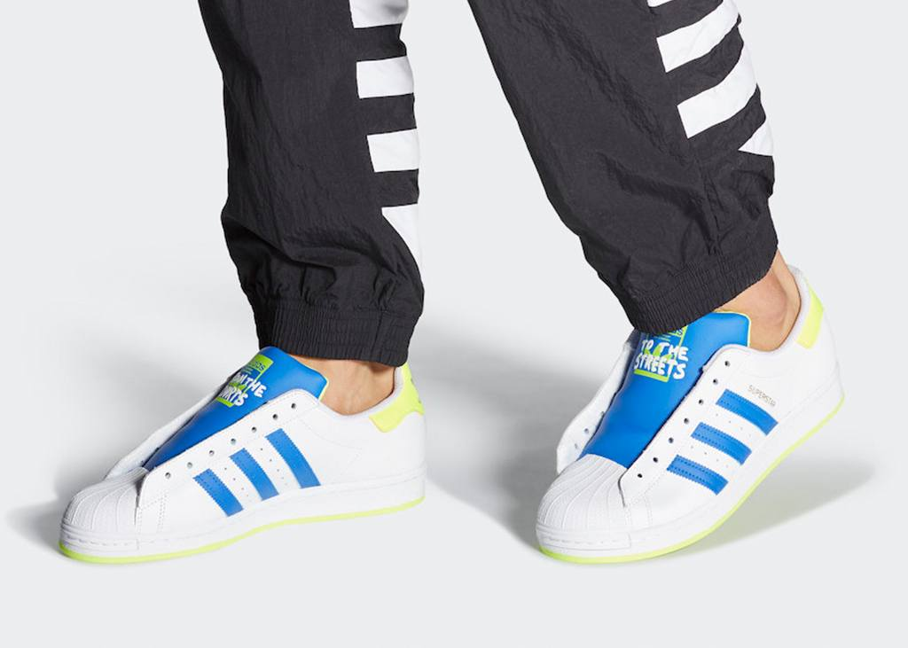 From the court to the streets: de adidas Superstar Laceless