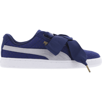 Puma Basket Heart Denim Blue 363371-01