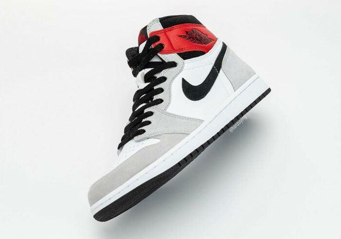 Nike Air 1 Jordan smoke red