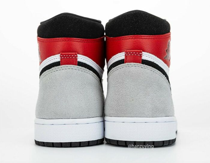 grey red bred nike Jordan 1