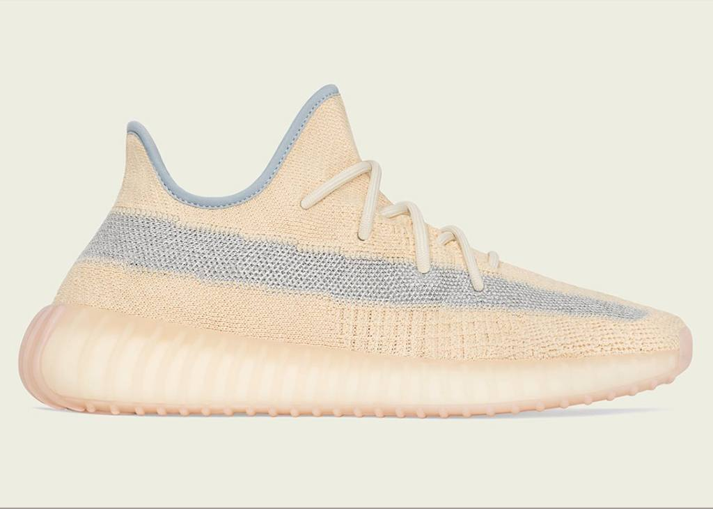 Get in line for the Adidas Yeezy Boost 350 v2 Linen