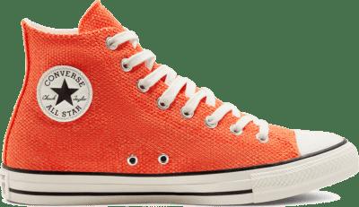 Converse Unisex Summer Breathe Chuck Taylor All Star High Top Bold Mandarin/Fuel Orange 168289C