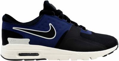 Nike Air Max Zero Black/Black-Ivory-Binary Blue (W) 857661-004