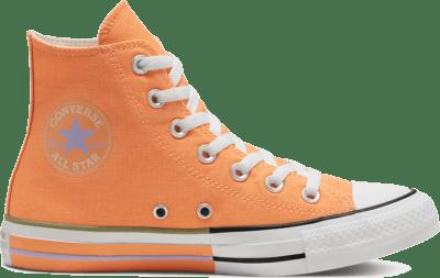 Converse Unisex Sunblocked Chuck Taylor All Star High Top Fuel Orange/Moonstone Violet 167634C