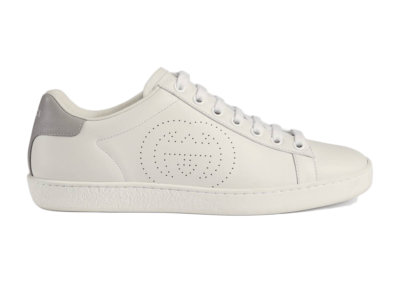 Gucci Ace Perforated Interlocking G (W) 598527 AYO70 9094