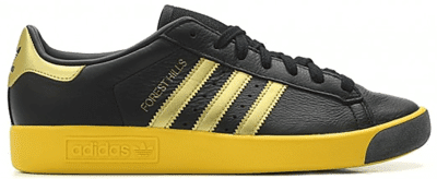 adidas Forest Hills Black Gold Yellow CQ2084