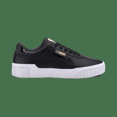 Puma Cali Snake sportschoenen voor Dames Goud / Zwart 372096_02