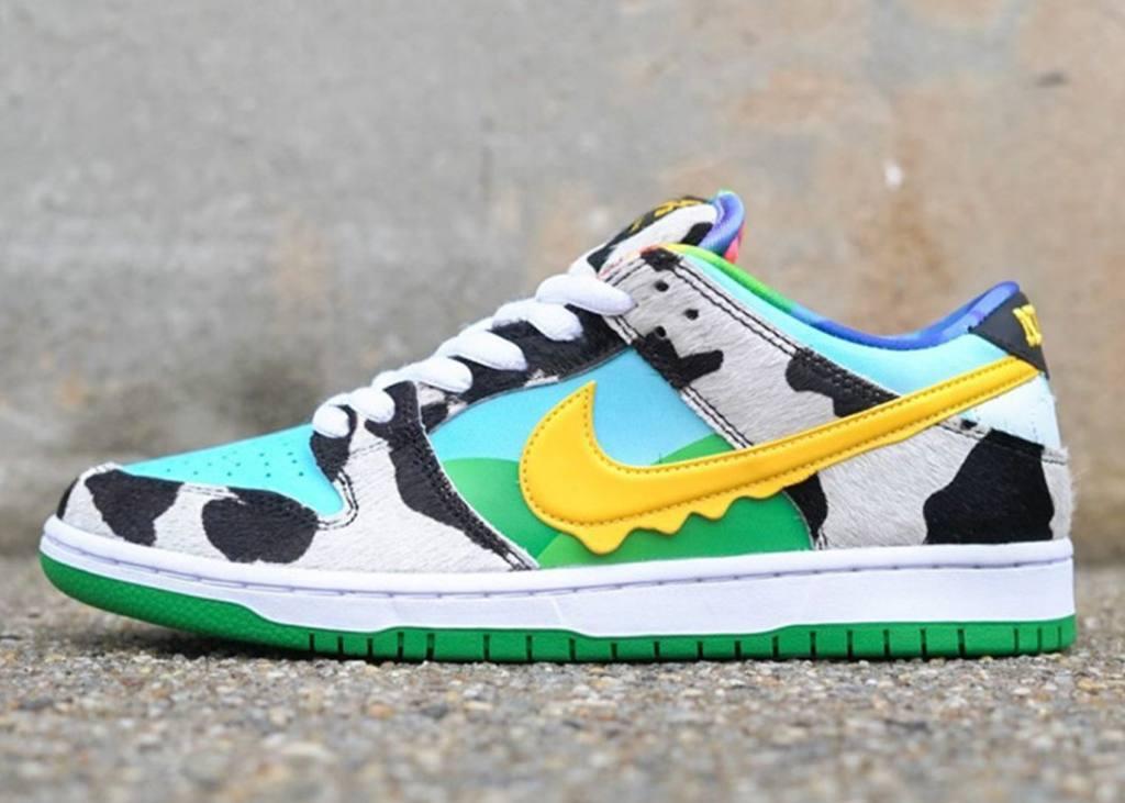 Om van te smullen: Ben & Jerrys x Nike SB Dunk Low 'Chunky Dunky'