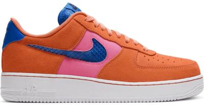 Nike Air Force 1 Low Orange Trance Lotus Pink Pacific Blue CW7300-800