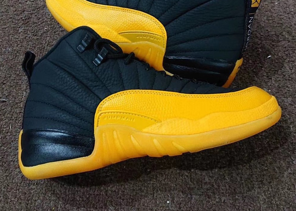 You know what it is!! Air Jordan 12 Black University Gold