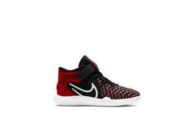 Nike KD Trey 5 VIII Black University Red (PS) CW1064-002