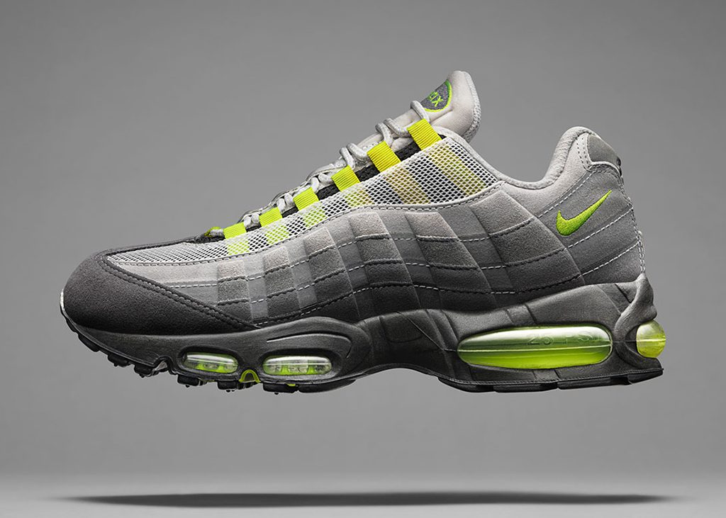 Back to the 90's! Nike Air Max 95 OG Neon re-release