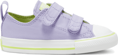 Converse Toddler Seasonal Color Easy-On Chuck Taylor All Star Low Top Moonstone Violet/Lemongrass 767792C