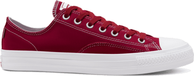 Converse Suede Ollie Patch CTAS Pro Low Top Team Red/White/White 167607C