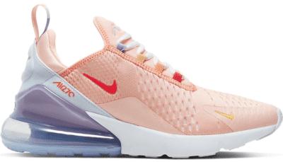 Nike Air Max 270 Washed Coral Football Grey (W) CW5589-600