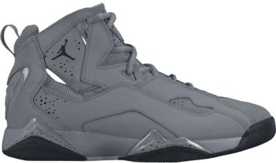 Jordan True Flight Cool Grey Black 342964-027