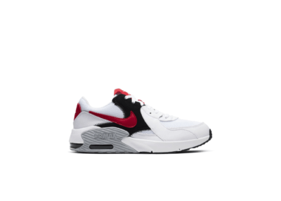 Nike Air Max Excee White University Red (GS) CD6894-105
