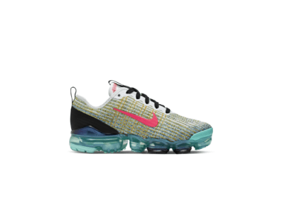 Nike Air VaporMax Flyknit 3 White Hyper Turquoise (GS) BQ5238-104