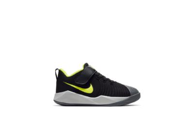 Nike Team Hustle Quick 9 Black Lemon Venom (PS) AT5299-007