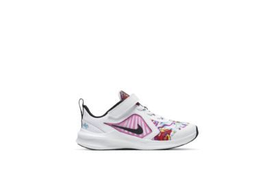 Nike Downshifter 10 Fable White Fire Pink (PS) CT5260-100