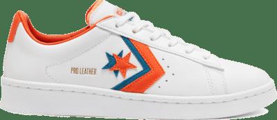 Converse Unisex Sunblocked Pro Leather Low Top White/Bold Mandarin 167853C