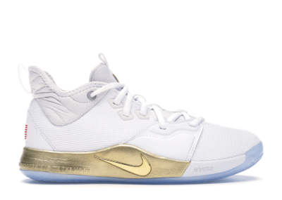 Nike PG 3 NASA White (GS) CI8973-100