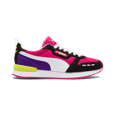 Puma R78 Runner sportschoenen Zwart / Wit / Paars 373117_04