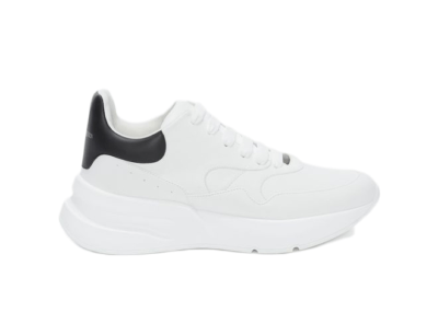 Alexander McQueen Oversized Runner Optic White Black 575425WHRU39034