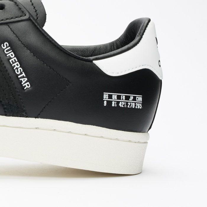 Adidas size tag super star