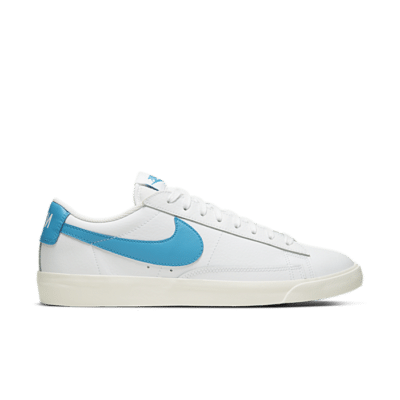 "Nike Blazer Low Leather ""Blue Swoosh"" CI6377-104"