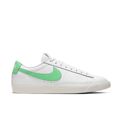 "Nike Blazer Low Leather ""Green Swoosh"" CI6377-105"