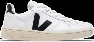 """Veja V-10 Leather """"White"""" VXW020005"""