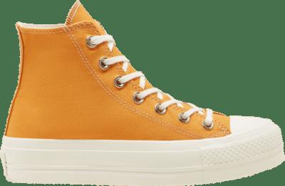 Converse Wmns Chuck Taylor All Star Platform High 'Sunflower Gold' Gold 568379C