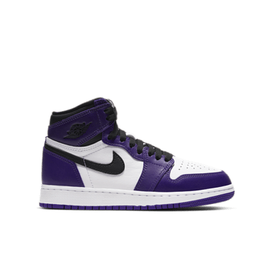 Jordan 1 Retro High Court Purple White (GS) 575441-500