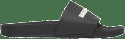 Balenciaga Pool Slide Black White 565826 W1S80 1006