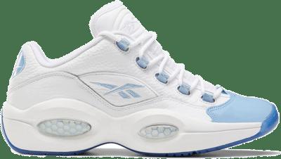 Reebok Question Low Schoenen White / Fluid Blue / Reebok Ice-A1 FX5000