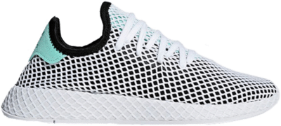 adidas Deerupt Core Black Easy Green B28076