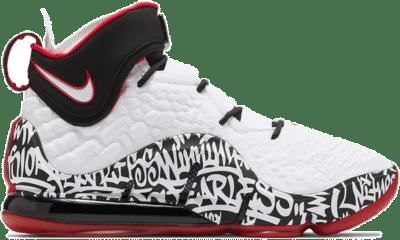 Nike LeBron 17 Graffiti CT6047-100/CT6052-100