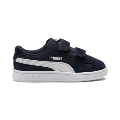 Puma Smash v2 Suede tennisschoenen Blauw / Wit 365178_02