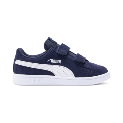Puma Smash v2 Kids' sportschoenen Blauw / Wit 365177_02